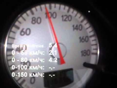 Mitsubishi Outlander 2.0 Turbo, разгон 0-100 км/ч за 6.2 секунды