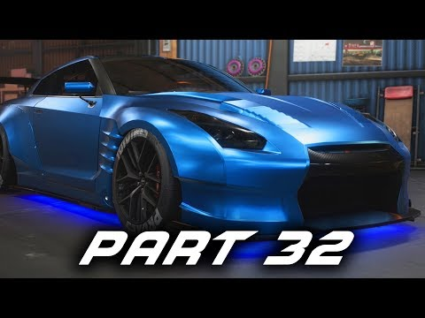 Need for Speed Payback Gameplay Walkthrough Part 32 - Nissan GT-R BenSopra & Free Roam Races