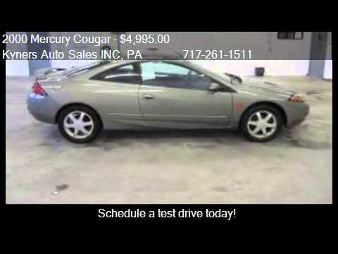 2000 Mercury Cougar  for sale in Chambersburg, PA 17202 at K