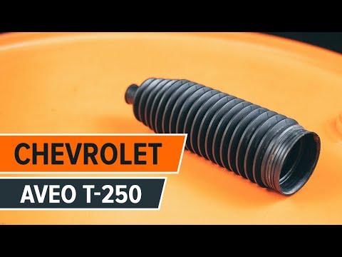 Wie CHEVROLET AVEO T-250 vordere Stoßdämpfer mit Backen wechseln TUTORIAL   AUTODOC