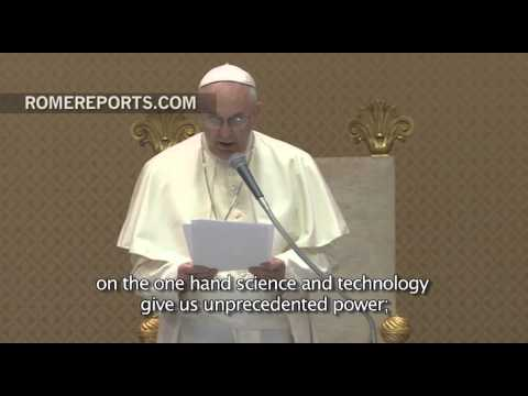 Pope to EU Environment Ministers: Go beyond words, take action