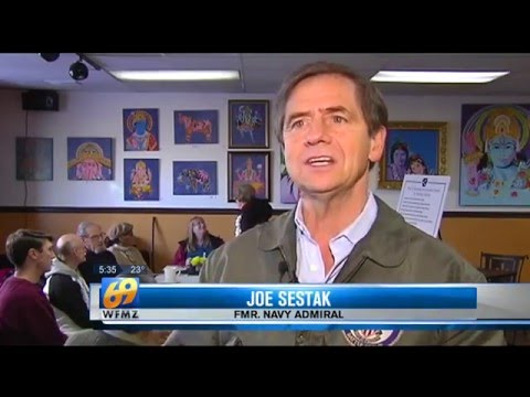 WFMZ-TV: Admiral Joe Sestak discusses Iran detainment incident, immigration reform in Reading
