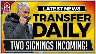 MOURINHO Expects MAN UTD Signings! MANCHESTER UNITED TRANSFER NEWS