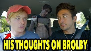 Driving with Sam Golbach (MAJOR TEA SPILLED)