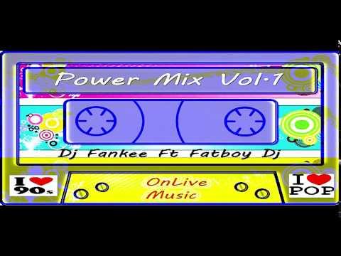 Clásicos del Pop en español Power Mix Vol 1 Dj Fankee Ft FatBoy Dj & OnLive Music (audio)