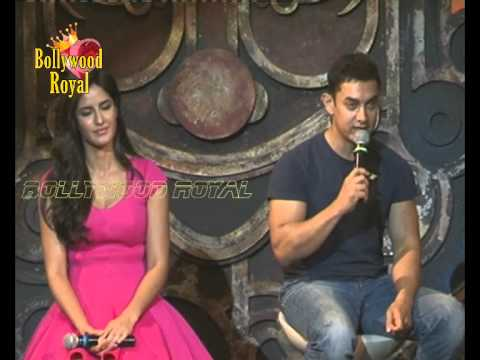 Aamir Khan and Katrina Kaif at title song Dhoom Machale of Dhoom...