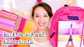 Back To School Essentials 2014: What