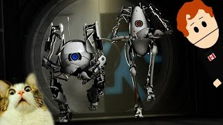 PORTAL 2 CO-OP With XEARRIK - GLADOS LOVES ORANGE