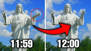 10 STATUE RIPRESE MUOVERSI IN VIDEO