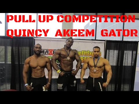 Pull Up Competition with King Gator,Supreme Akeem and Quincy France