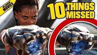 BLACK PANTHER Teaser Trailer Breakdown - Things Missed & Easter Eggs