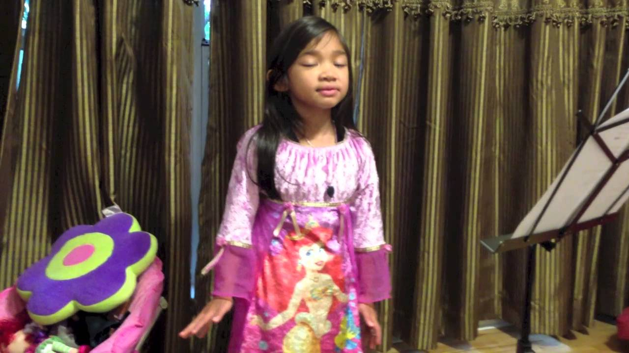 5 Yr Old Singing God Bless America - Angelica Hale - YouTube