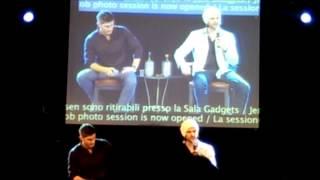 J2 panel - Friendship and 'Uncle Jensen'