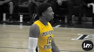 Jordan Caroline puts away TWO Tip Dunks @ Cancer Research Classic [Montverde c/o 2014]