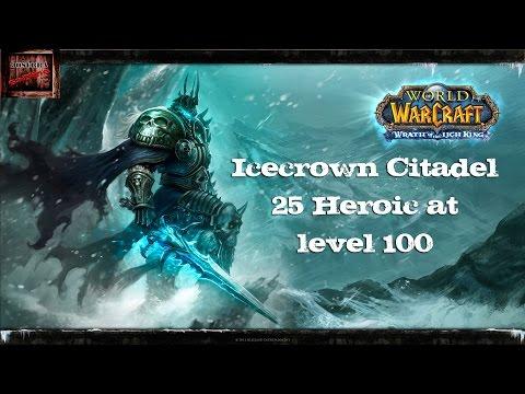 WoW: Level 100 Fury Warrior Solo ICC 25 HC