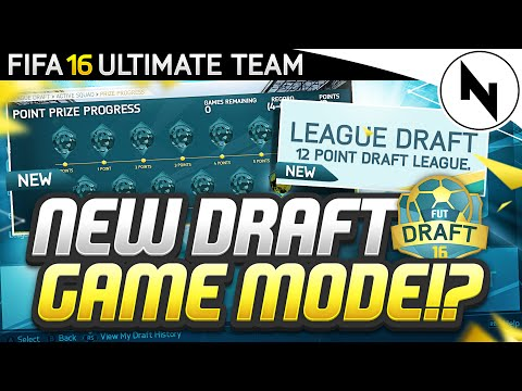 NEW DRAFT MODE FOR FIFA?! - FIFA Ultimate Team