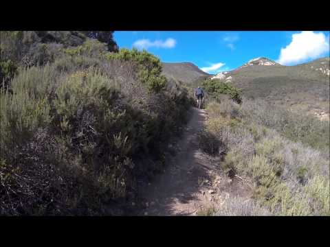Mountain biking at Cerro Cabrillo in Morro Bay, CA