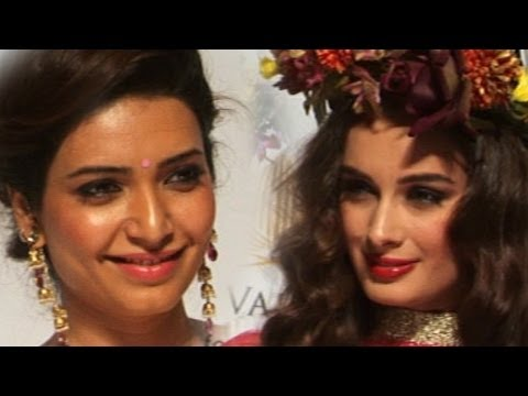 KARISHMA TANNA AT  INDIA BRIDAL FASHION WEEK 2013