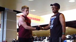 Crazy Shoulder Workout with Akash