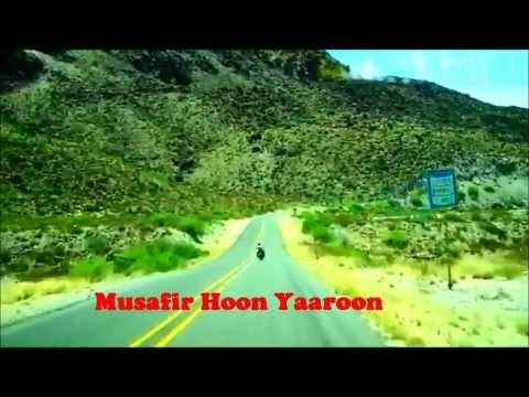 Karaoke Musafir Hoon Yaaron By Ashish Varshney