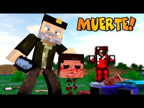 Minecraft: EL DESTRIPADOR!!   Realistic Death Mod Review