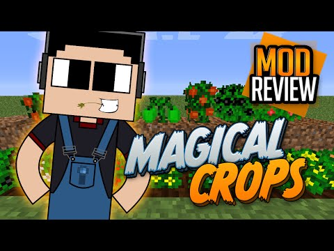 Minecraft: Mod Review: Magical Crops 1.7.10 I Sembrar recursos I Spotlight I Español I