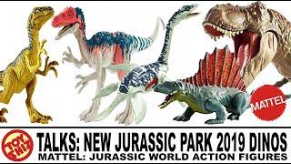Toy Shiz Talks: NEW Mattel Jurassic Park 2019 Dinosaur Figures