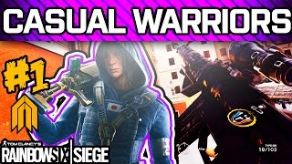 RAINBOW SIX SIEGE CASUAL WARRIORS #1 - Diamonds Playing Casual