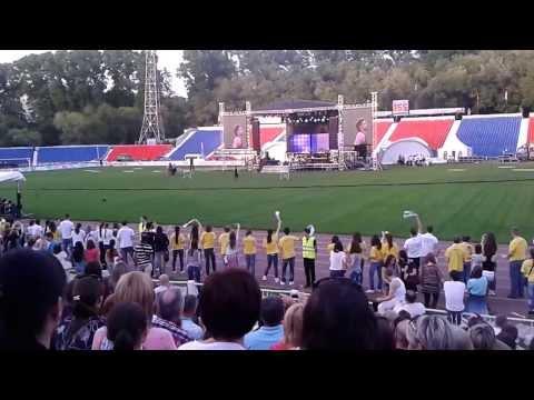 Концерт Димы Билана и Алексея Чумакова.