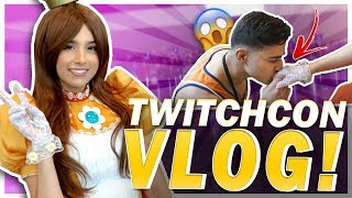 A FAN DID WHAT?! PRINCESS DAISY COSPLAY! TwitchCon Vlog!