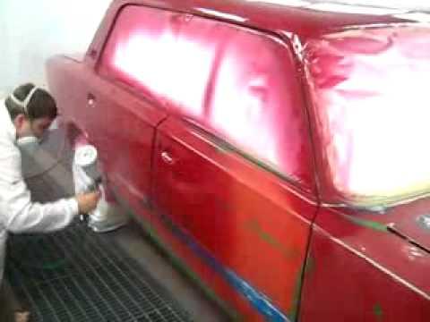 Покраска кузова 2106 своими руками