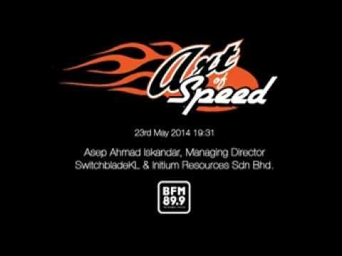 Art of Speed Asia 2014, Evening Edition BFM (Radio Interview)