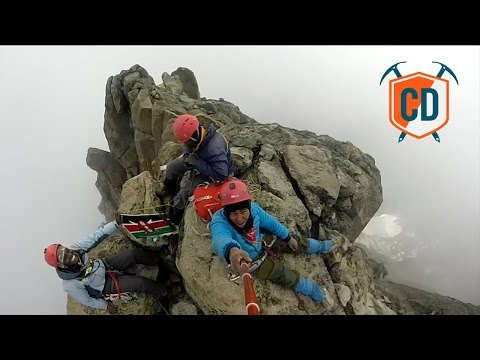 16-Year-Old Peter Naituli's Mission To Climb Kenya's Classic Routes | Climbing Daily, Ep. 625