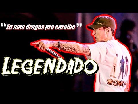 Eminem Live Lollapalooza Brasil - Conversa com público + My Name Is 'LEGENDADO'