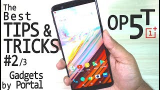 OnePlus 5T - Most Advanced TIPS & TRICKS, Best Features & Gestures, Tutorial #2/3 😲😲