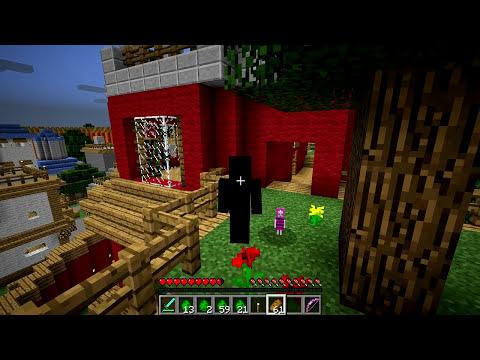 Minecraft Mods - MORPH HIDE AND SEEK - NARUTO MOD!