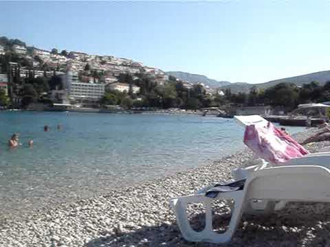 Dubrovnik – Croazia – In spiaggia prima del ritorno