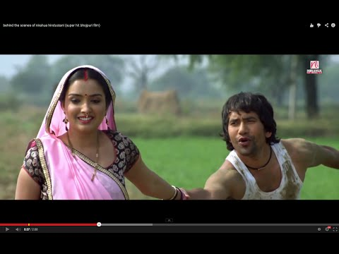 Behind The Scenes Of Nirahua Hindustani (super Hit Bhojpuri Film) video