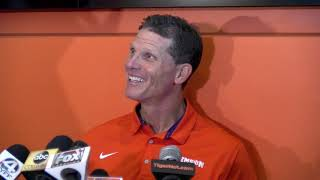Clemson media day: Brent Venables not happy with first depth chart release