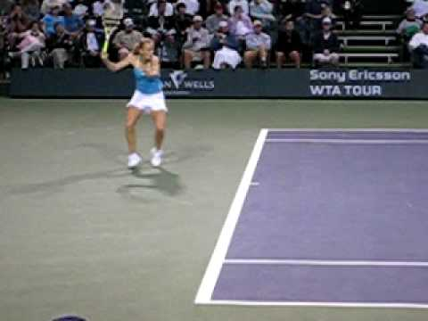 Caroline Wozniacki at Indian Wells