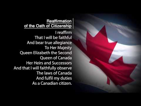 Reaffirmation of the Oath of Citizenship
