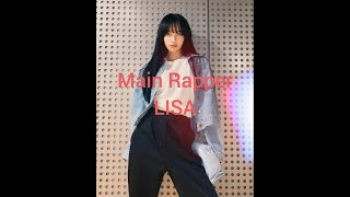 Download lagu LISA being a Main Rapper for 7 minutes