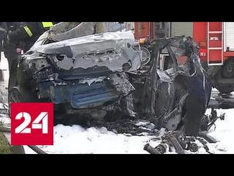 Заядлый гонщик сгорел в Maserati в центре Москвы