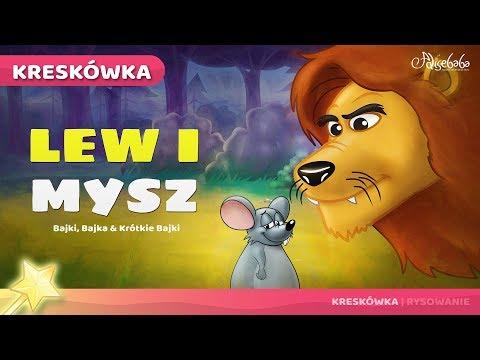 Lew I Mysz | Bajka Dla Dzieci Po Polsku