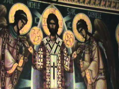 Chiesa ortodossa a Torino – Icona della Liturgia angelica