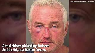 Drunk Man Crashes Stolen Taxi Through Gates Of Trump's FL Golf Club, Police Say
