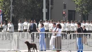 video Cambio de Guardia en Palacio La Moneda - Santiago - Chile.