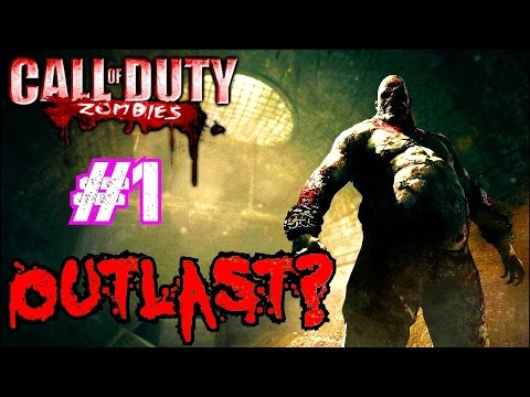 Call of Duty Custom Zombies: AN AWESOME OUTLAST THEMED MAP!▐ Collingwood Psych Hospital (Part 1)