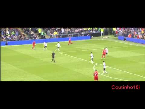 Philippe Coutinho Vs Fulham Away 12-13 HD