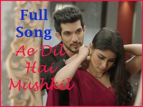 Ae Dil Hai Mushkil full song/ nagin drama/ shivanya & ritik/ 2016 song
